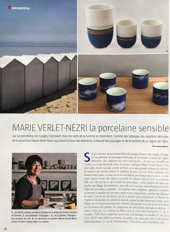 Marie Verlet Actualité